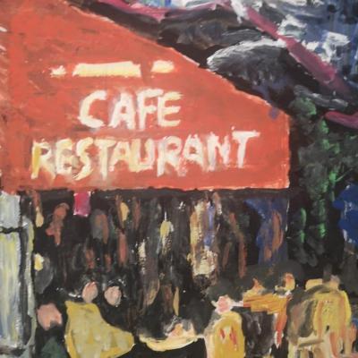 Cafe la nuit par erick delille