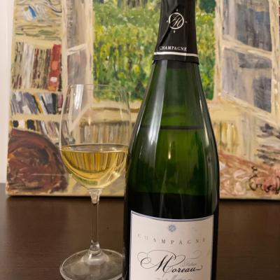 Champagne fabrice moreau brut blanc de blanc