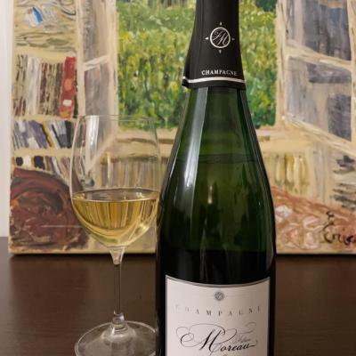 Champagne fabrice moreau brut nature