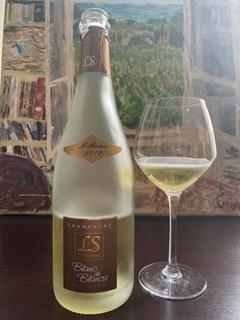 Champagne l s cheurlin brut blanc de blanc millesime