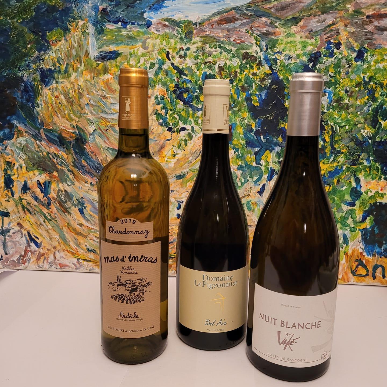 Coffret 3b chardonnay 3 regions