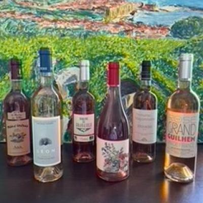 Coffret degustation 6 bouteilles des roses du sud