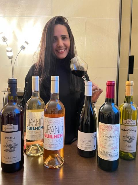Coffret degustation 6 bouteilles vins natures par edilene
