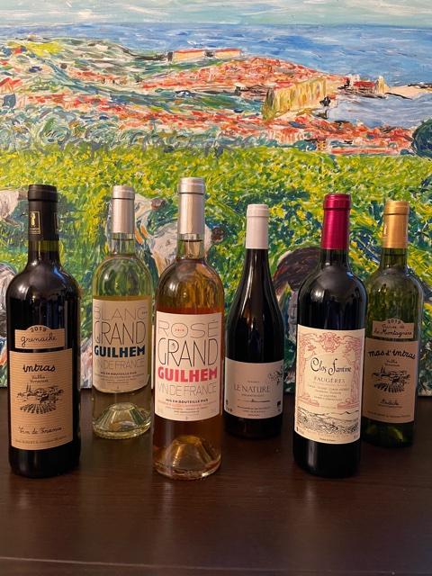 Coffret degustation 6 bouteilles vins natures