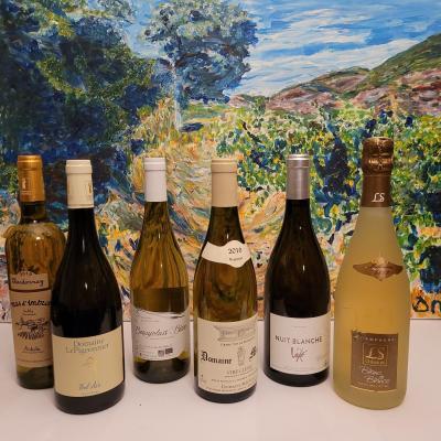 Coffret degustation 6b chardonnay 6 regions