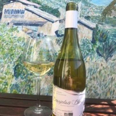 Domaine de l eglantine beaujolais blanc