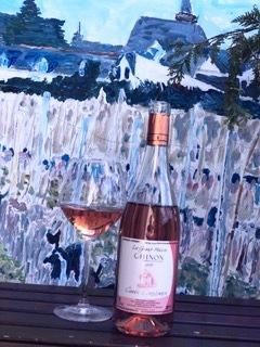 Domaine de la grand maison chinon rose 2019