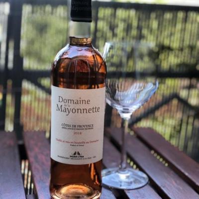 Domaine de la mayonnette cotes de provence rose 2018