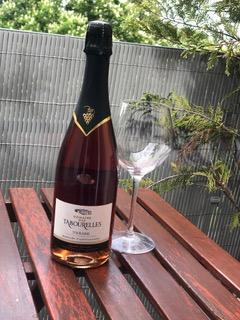 Domaine des tabourelles fines bulles rose touraine methode traditionnelle 1