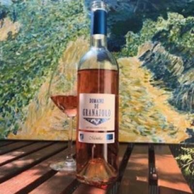 Domaine granajolo cuvee monika rose corse portovecchio 2019