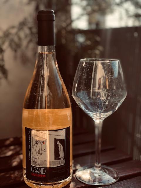 Pointilliste Orange Domaine Grand Guilhem Vin Orange 2019 Vin Nature
