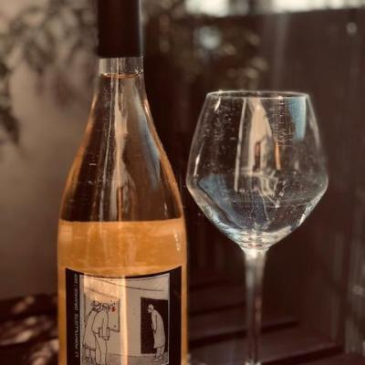 Pointilliste Orange Domaine Grand Guilhem Vin Orange 2019 Vin Nature